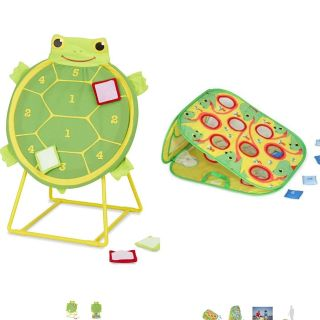 ISO Toddler velcro toss game and/ or corn hole