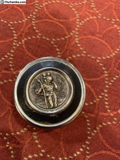 Saint Christopher Magnetic Split Ash tray