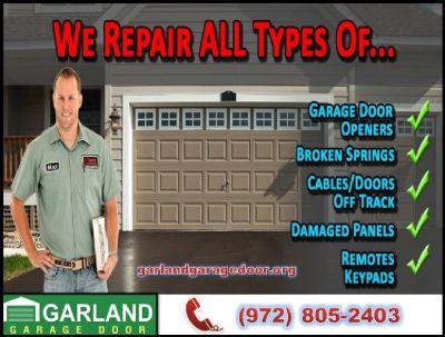 24/7 Emergency Garage Door Repair & New Installation Service | Garland, Dallas 75041 TX