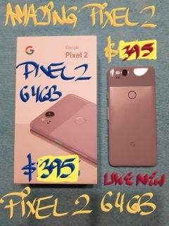 Firm$395 orTRADE AMAZING PIXEL 2 64gb+charger
