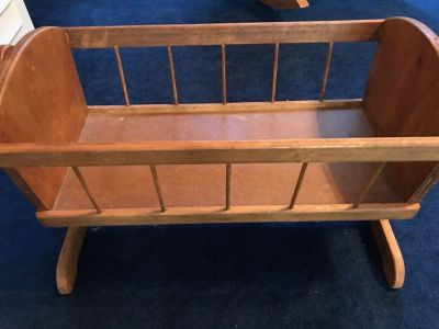 Hand Crafted Toy Cradle