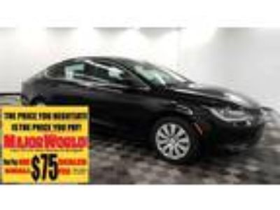 $14588.00 2016 Chrysler 200 with 19773 miles!