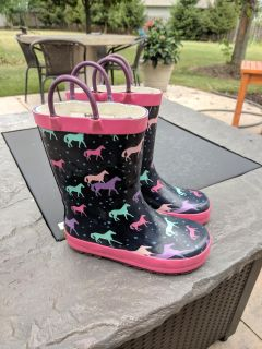 Toddler girl Western Chief rubber boots - size 10