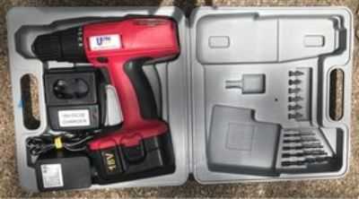 Ultra Steel 18 volt Reversible Drill Driver Kit