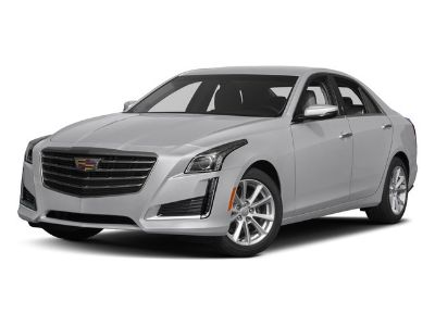 2017 Cadillac CTS 2.0T Luxury Collection (Crystal White Tricoat)