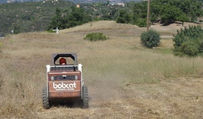 Affordable Weed Abatement Bobcat Mowing