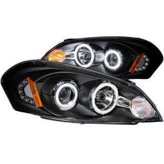 Find 06-10 Chevrolet Impala Malibu Anzo 121236 Headlights Black Clear Projector Halo motorcycle in Naperville, Illinois, US, for US $236.00