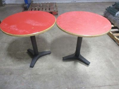 Lot of Restaurant Tables and Chairs RTR# 9043004-01