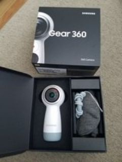 Samsung Gear 360 Camera NIB