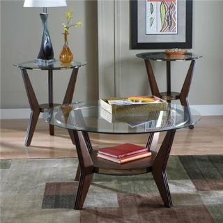 REDUCED PRICE LIKE NEW Coffee table and 2 matching end tables