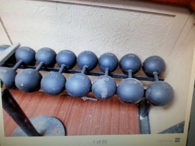 ISO York Dumbbells and Plates