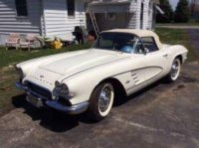 1961 Corvette One owner for last 56 years