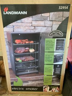 Landmann electric smoker