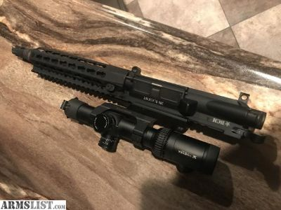 For Sale/Trade: Bcm upper 300 blackout and vortex scope