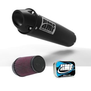 Find HMF Honda TRX 450R 2007 - 2014 Black/Blk Euro Slip On Exhaust Muffler + JET + KN motorcycle in Berea, Ohio, United States, for US $341.91