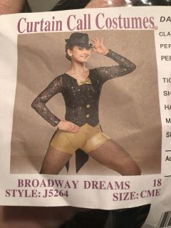 Musical Theater dance costume