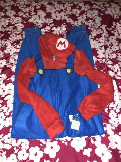 New with tags super Mario brothers pajamas size 14/16