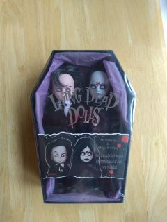 Brand new in sealed package Mr. Graves and Abigail Crane Living Dead Dolls