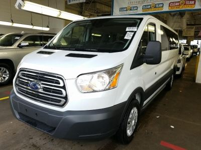 "2017 Ford Transit Wagon T-350 148"" Low Roof XLT Slidin (White)"