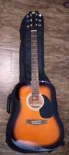 Dreadnought Acoustic Guitar with gig bag