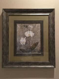Picture, glass and framed