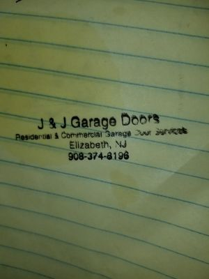 J&J garage door sales installation repairs