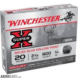For Sale: Winchester 20 Gauge Slugs - Cheap!!!