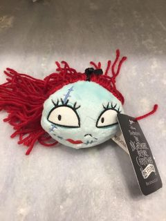 Brand new Sally Nightmare Before Christmas backpack clip - NWT