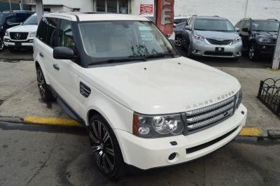 2009 Land Rover Range Rover Sport Supercharged (Alaska White)