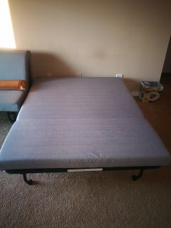 almost new IKEA queen size coach beds