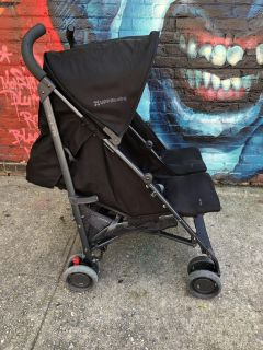 Uppababy G-link 2016 double black stroller