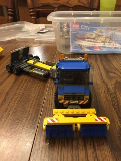 LEGO truck and trailer