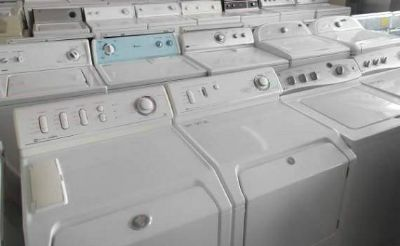 Heavy duty washer and dryer machines