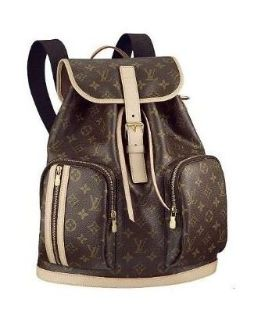 LOUIS VUITTON MONOGRAM CANVAS BOSPORE BACKPACK M40107