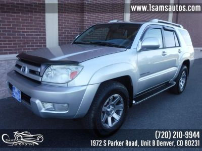 2004 Toyota 4Runner Limited (Galactic Gray Mica)