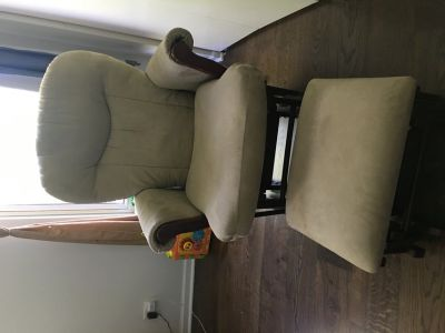 Nursing rocker chair