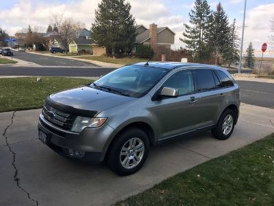 2008 Ford Edge SEL (Vapor Silver Metallic)