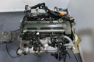 JDM Supra 2JZ GTE with V161 6 Speed Trans ECU and Full Harne