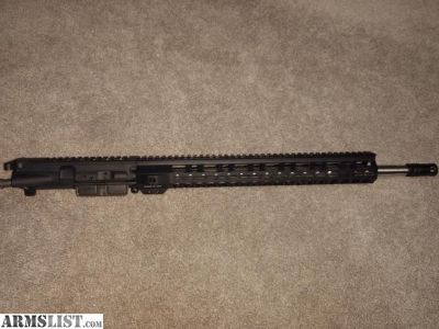 For Sale: AR15 Complete Upper 18""