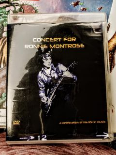 Concert for Ronnie Montrose DVD