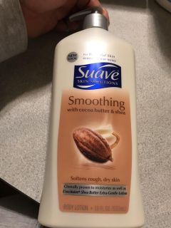 Suave smoothing with cocoa butter
