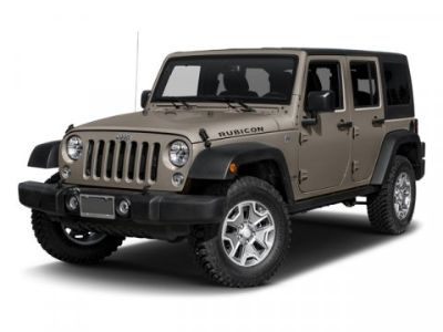 2016 Jeep Wrangler Unlimited Rubicon (Bright White Clearcoat)