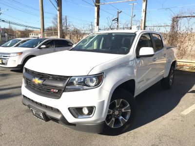 "2016 Chevrolet Colorado 4WD Crew Cab 128.3"" Z71 (White)"