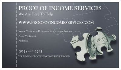 NEED PAY STUBS IMMEDIATELY FOR YOUR APPROVALS