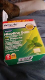Gum to quite smoking...new still in box never opened with receipt.,
