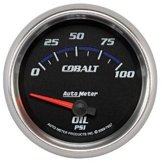 Buy Auto Meter 7927 Cobalt; Electric Oil Pressure Gauge motorcycle in Rigby, Idaho, United States, for US $115.95