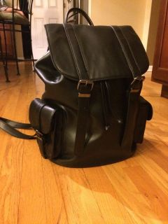 Aldo Black Backpack/Purse/Bag-EUC