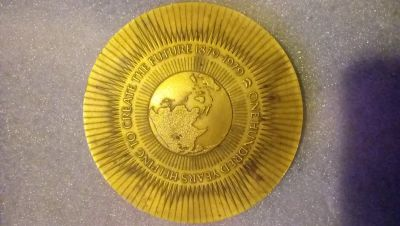 Chevron 100 year anniversary medallion/coin