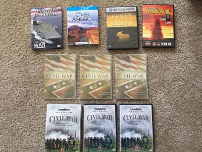 Historical / Educational DVDs