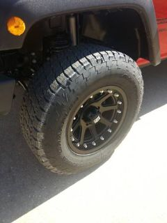 2957017 Nitto Tires on 17x9 XD Wheel JEEP JK